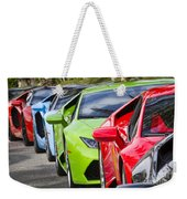 Follow That Lamborghini Weekender Tote Bag