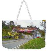 Follow The Art Road Weekender Tote Bag