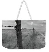 Follow The Wire Weekender Tote Bag