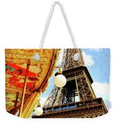 Following The Curve Weekender Tote Bag