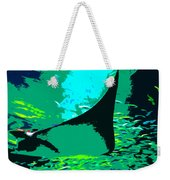 Following The Great Ray Weekender Tote Bag