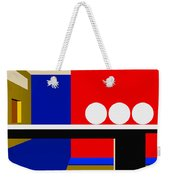 Following Through Weekender Tote Bag