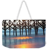 Folly Beach Abstract Weekender Tote Bag