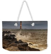 Folly Beach Lighthouse Weekender Tote Bag