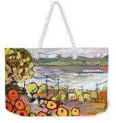 Fond Memories Weekender Tote Bag by Jennifer Lommers