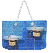 Fontaine Bleue Weekender Tote Bag