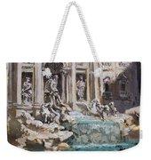 Fontana Di Trevi Rome Weekender Tote Bag