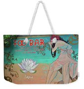 Foo Bar Artwork Weekender Tote Bag