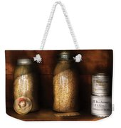 Food - Corn Yams And Oatmeal Weekender Tote Bag