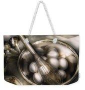 Food - Mix In The Eggs Weekender Tote Bag