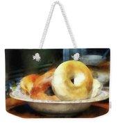 Food - Bagels For Sale Weekender Tote Bag