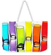 Food Coloring Ensemble-rainbow Theme Weekender Tote Bag