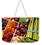 Food Compartments  Weekender Tote Bag