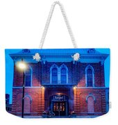 Food Court Weekender Tote Bag