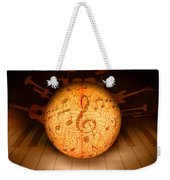 Food For Brain And Peace For Soul Weekender Tote Bag