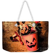 Food For The Little Halloween Spooks Weekender Tote Bag