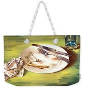 Food Is A Weapon -- Ww2 Propaganda Weekender Tote Bag