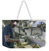 Food Truck Worker Weekender Tote Bag