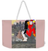 Foot Be Alone Shoe Weekender Tote Bag