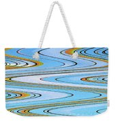 Foot Bridge Abstract Weekender Tote Bag