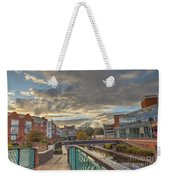 Foot Bridge At Gas Street Basin  Birmingham Weekender Tote Bag