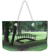 Foot Bridge In The Park Weekender Tote Bag