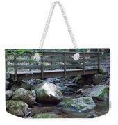 Foot Bridge Over Notch Brook Weekender Tote Bag