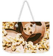 Footage From An Antique Motion Picture Weekender Tote Bag