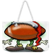 Football Christmas Weekender Tote Bag