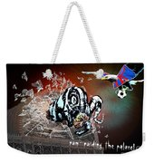 Football Derby Rams Against Crystal Palace Eagles Weekender Tote Bag