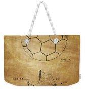 Football Patent Weekender Tote Bag
