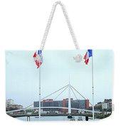 Footbridge Bassin Du Commerce 1 Weekender Tote Bag
