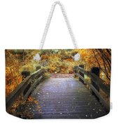 Footbridge Canopy Weekender Tote Bag
