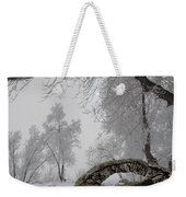 Footbridge Over The Creek Weekender Tote Bag