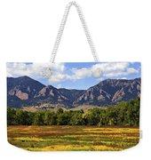 Foothills Of Colorado Weekender Tote Bag