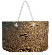 Footprints - Bird Weekender Tote Bag