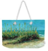 Footprints In The Sand Weekender Tote Bag
