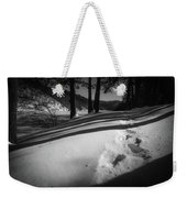 Footprints Weekender Tote Bag