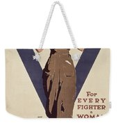 For Every Fighter A Woman Worker Weekender Tote Bag