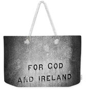 For God And Ireland Macroom Ireland Weekender Tote Bag