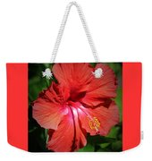 For The Love Of Hibiscus Weekender Tote Bag