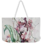 For The Love Of Orchids Weekender Tote Bag