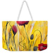 For The Love Of Poppies Weekender Tote Bag