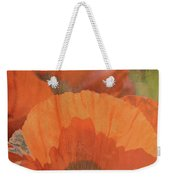 For The Love Of Poppy Weekender Tote Bag