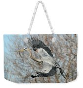 For The Nest Too Weekender Tote Bag