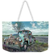 For Whom The Truck Tows Weekender Tote Bag