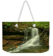 Forbes State Forest Cole Run Cave Falls Weekender Tote Bag