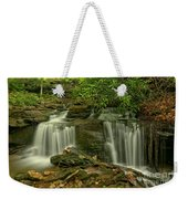 Forbes State Forest Twin Falls Weekender Tote Bag