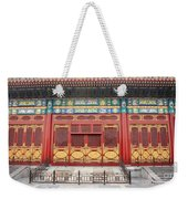 Forbidden City Building Detail Weekender Tote Bag