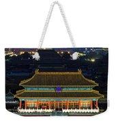 Forbidden City By Night Weekender Tote Bag